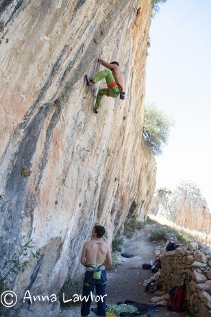 Sport-climbing-el-Chorro-Spain
